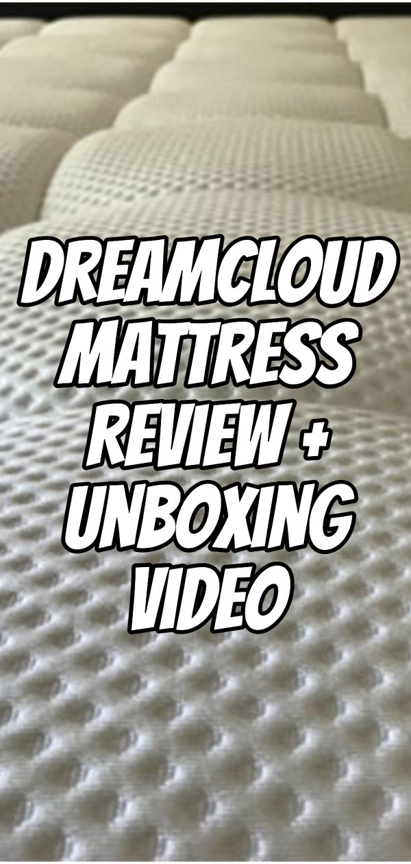 My wife and I noticed an immediate improvement in our sleep quality. Check out our initial impressions about the mattress and my full DreamCloud Mattress Review including an unboxing video so you know what to expect when your mattress arrives.