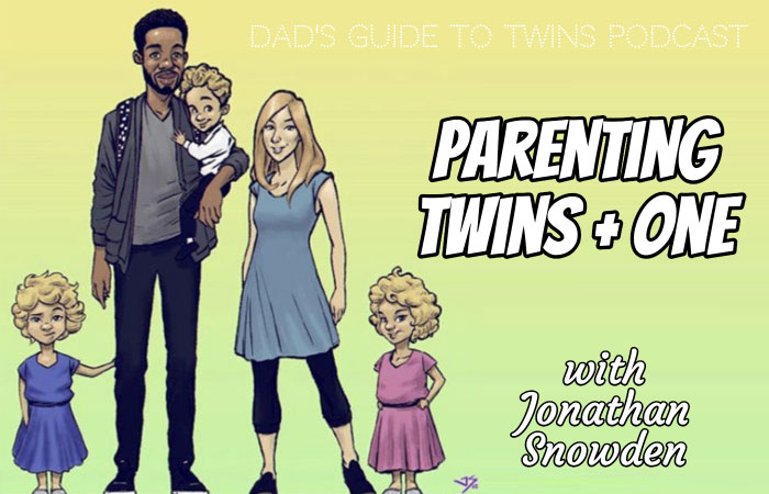 Parenting Twins Plus One with Jonathan Snowden - Podcast 175