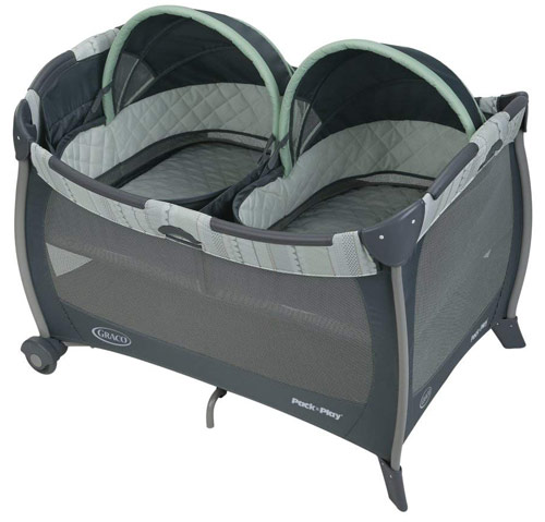 Graco Playard with Twins Bassinet