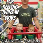 Tricks for Keeping Twins in Cribs (and Other Twin Dad Hacks) with James Frazier – Podcast 176