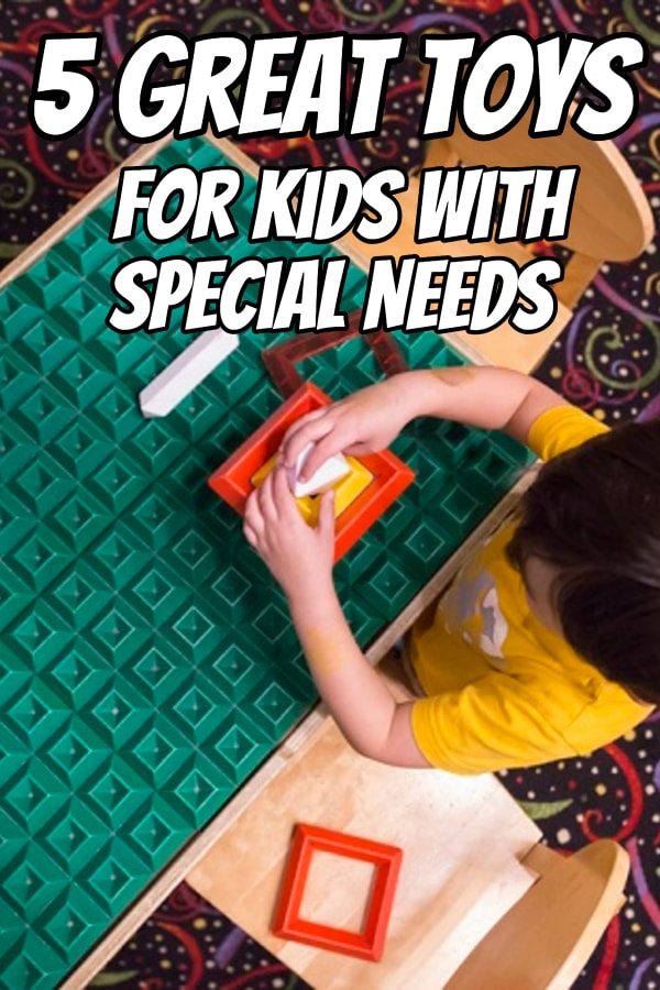 Finding the perfect toys for kids with special needs can be a challenge. Here are five of our favorite, and parent-tested, toys that your child (or children) with special needs will enjoy.