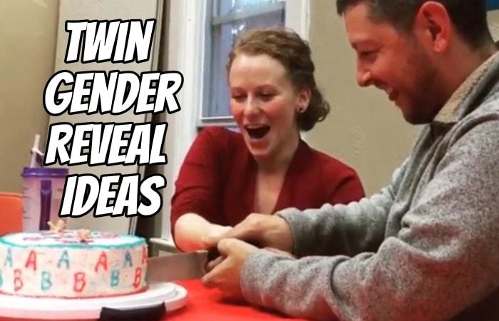 Twin Gender Reveal Ideas