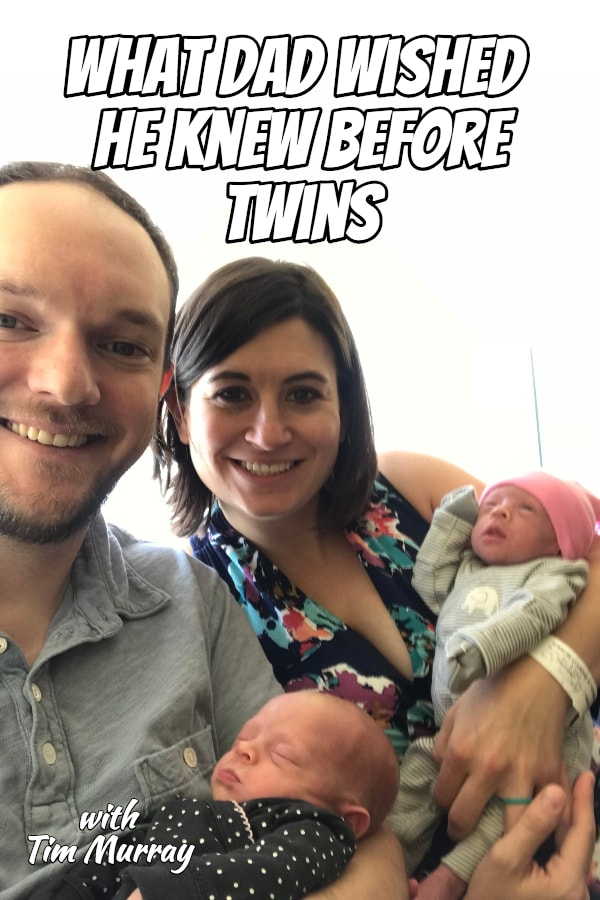 Father of twins Tim Murray shares his twin journey including some of the big surprises during the twin pregnancy that he wished someone had told him about. Plus bringing home the twins and adjusting to life as a twin dad.