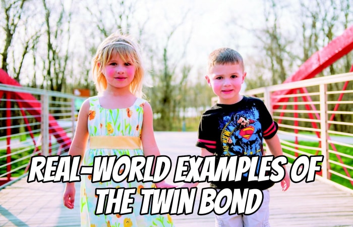 Real-world examples of the twin bond