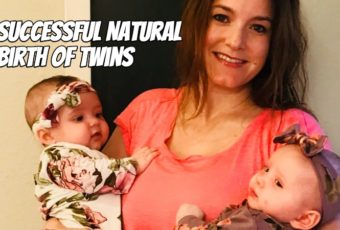 Successful Natural Birth of Twins (+ Swimming During Labor)
