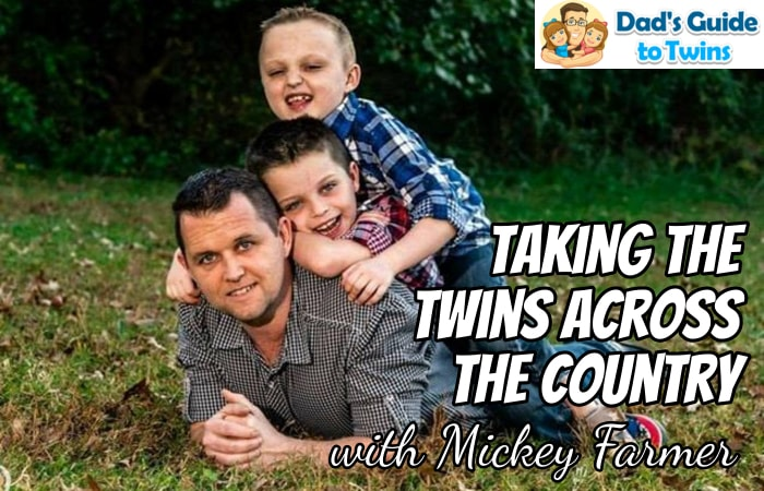 Taking the Twins Across the Country with Mickey Farmer - Podcast 188