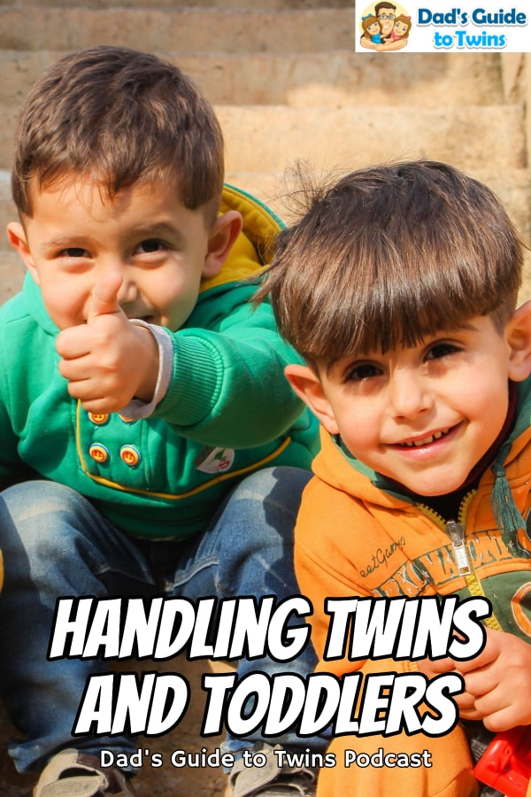 Answers to your twin parenting questions: handling twins and toddlers, getting the twins to listen to you, and giving individual attention to each twin.