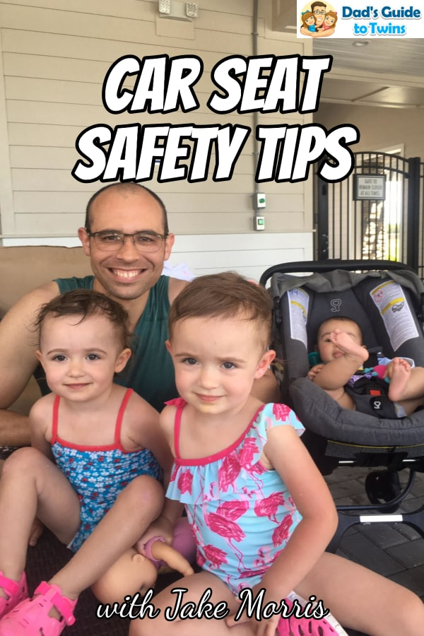 Father of twins Jake Morris shares his twin parenting journey including having another child after twins and car seat safety tips every parent should know.
