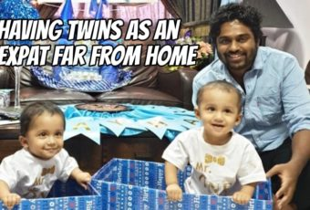 Having Twins as an Expat Far from Home with Naveed Ahamed – Podcast 205