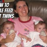 How to Bottle Feed Infant Twins (Even When You're By Yourself)