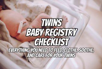 Twins Baby Registry Checklist (2020 Update)