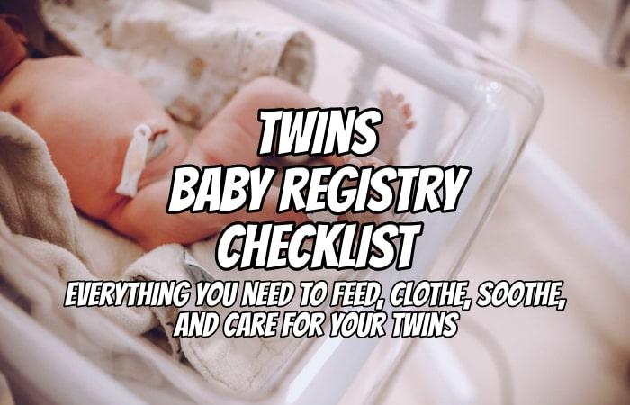Twins Baby Registry Checklist