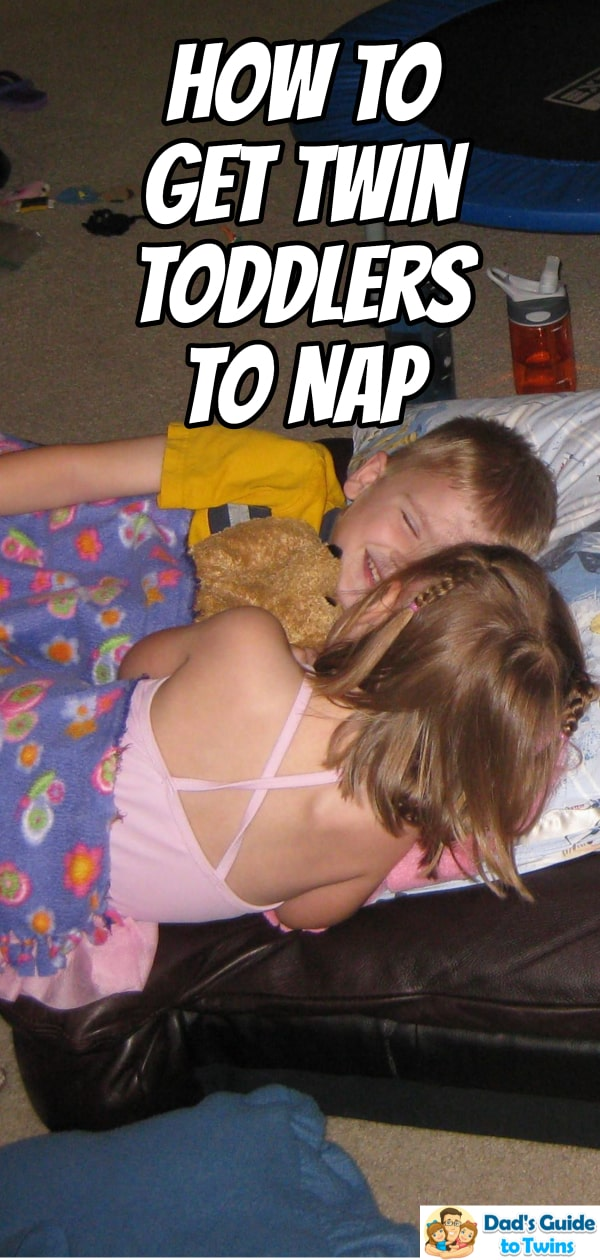 How to Get Twin Toddlers to Nap