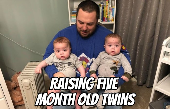 Raising Five Month Old Twins with Jeff Hillenmayer