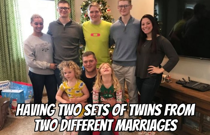 Having Two Sets of Twins from Two Different Marriages